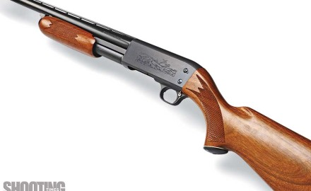 The classic Ithaca Model 37 pump-action shotgun's heritage traces back to the Remington Model 17