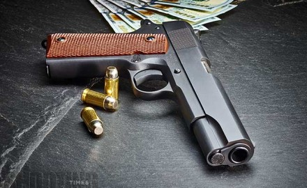 Auto Ordnance's GI-style Model 1911 BKO is a serviceable .45 ACP pistol with an extremely