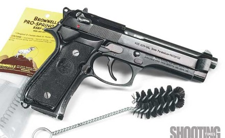 The Beretta 92 FS 9mm semiauto pistol has been with us for many years. For the most part, it has