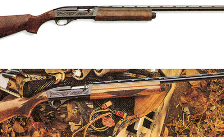 By the 1980s, Remington had become increasingly aware of the need for a 12-gauge autoloading shotgun that could handle both 2 3/4- and three-inch shells interchangeably.