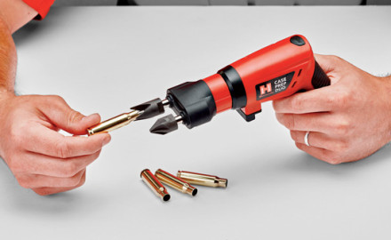 One of the coolest new tools for handloaders this year is Hornady's rechargeable Case Prep Duo. Its folding handle makes several case-prep tasks easy, and it can double as an electric screwdriver.