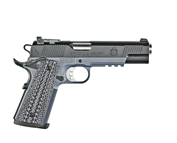 Springfield's New TRP Operator, Tactical Gray 1911