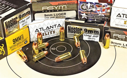 Some 9mm Luger ammunition is especially accurate and is marketed as