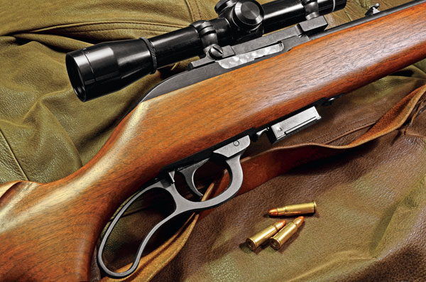Marlin's short-lived Model 62 Levermatic in .256 Winchester Magnum was a fine small-game combination. Sadly, only about 8,000 were made in this caliber.