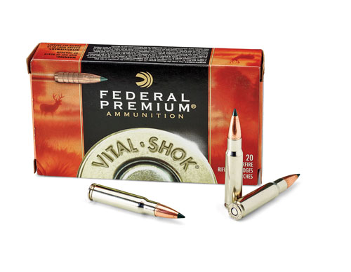 Joel chose the .338 Federal as the chambering for his E.R. Shaw Mk. VII because he wanted a non-magnum short-action cartridge larger than .30 caliber that's designed for hunting big game.