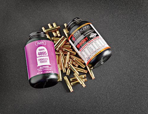 While factory ammunition in .338 Federal is available loaded with premium bullets ranging in weight from 180 to 210 grains, a wider range of component bullets, a lot of readily available powders, and new brass from Starline make it a great candidate for handloading.