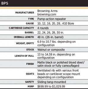 BrowningBPSSpecs