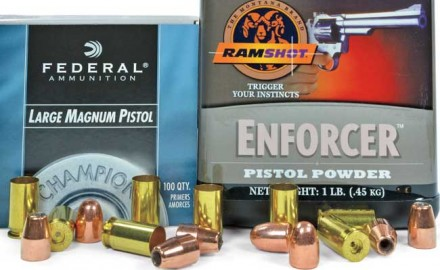 Using Ramshot Enforcer and 230-grain bullets, .45 ACP muzzle velocities over 1,000 FPS at safe, standard-level pressures are possible.