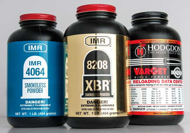 Shooters can amp up the performance of the .35 Whelen by handloading. Powders designed for mid-capacity cartridges, such as the .308 Winchester, excel in the .35 Whelen. IMR 4064, IMR 8208 XBR, and Hodgdon Varget are exceptional.