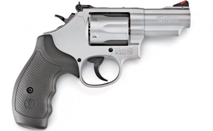 The S&W Model 66 .357 Magnum K-Frame revolver is now offered with a 2.75-inch barrel. The gun is a double-action revolver with an adjustable rear sight.
