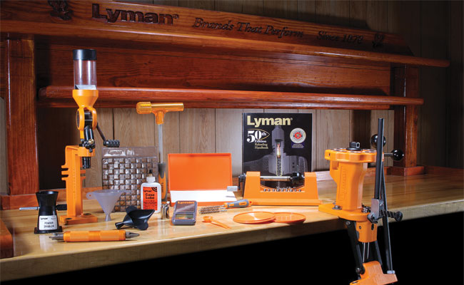 Lyman Products Reloading Kits Include Essential Tools to Start Reloading
