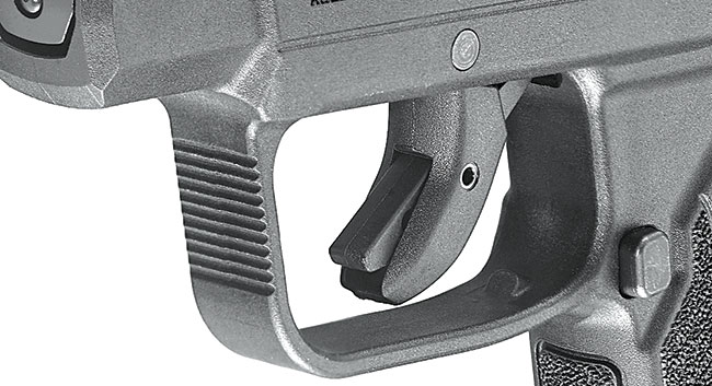 New features on the LCP II include a safety-lever trigger, front slide serrations, and improved grip texturing.