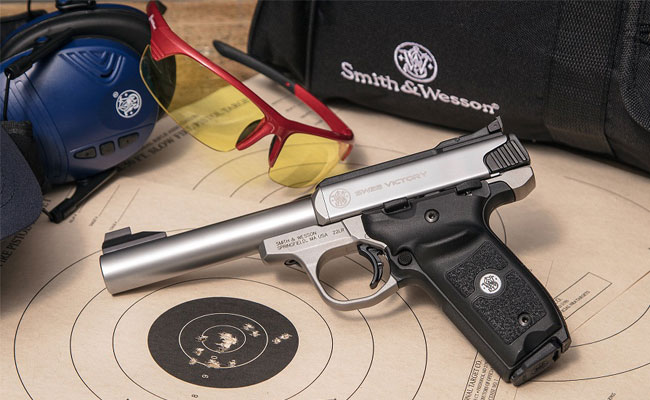 Smith & Wesson Launches SW22 Victory Target Model Pistol