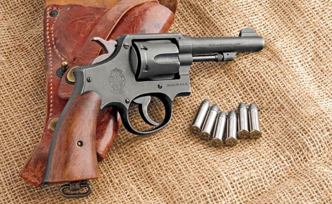 The S&W .38 M&P Victory Revolver