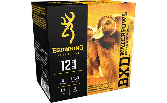 Browning Ammunition BXD Waterfowl Adds New Shot Size