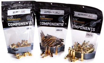SIG SAUER, Inc. is manufacturing premium pistol & rifle ammunition components for precision handloaders at its ammunition facility in Jacksonville, Ark.