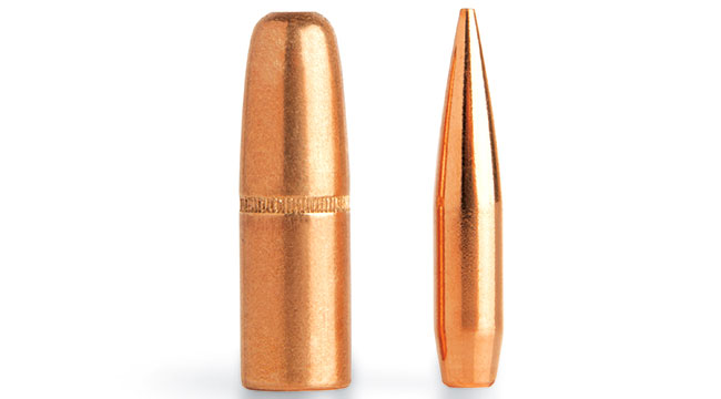 Sectional density is an outdated measure of a bullet's penetrating ability derived from diameter and weight, but it is applicable to typical roundnose, flatbase dangerous-game bullets, such as the .416 Solid (left), but not so the modern VLD (right).