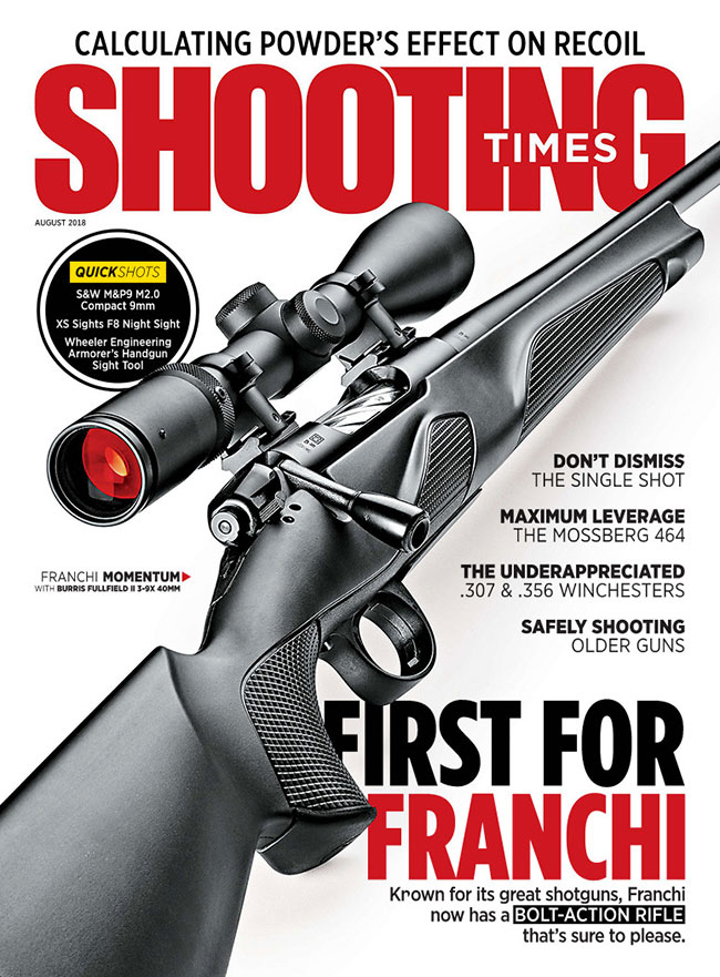 Shooting Times August 2018 Issue Cover