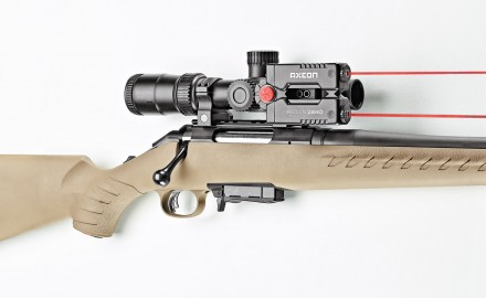 The new Absolute Zero sighting device from Axeon Optic Solutions, a subsidiary of Umarex, promises fast sight-in with as few as three shots.