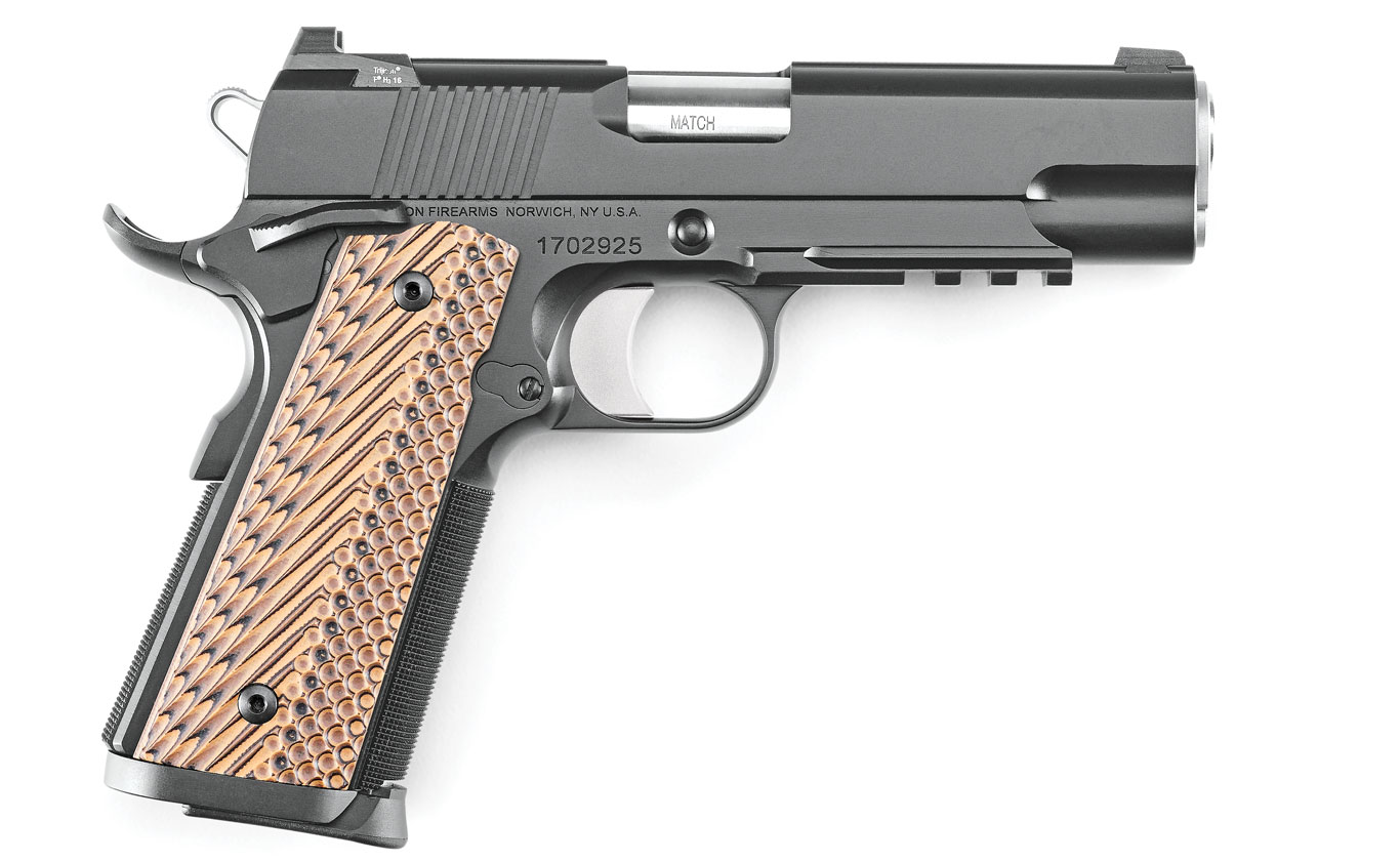 Review: Dan Wesson Specialist Commander .45 ACP