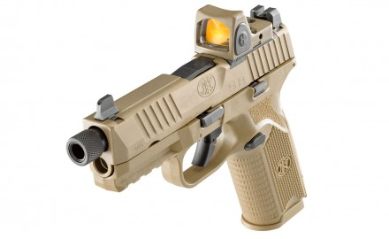 FN America, LLC announces the expansion of the FN 509 Series of striker-fired pistols with the release of the FN 509 Tactical.