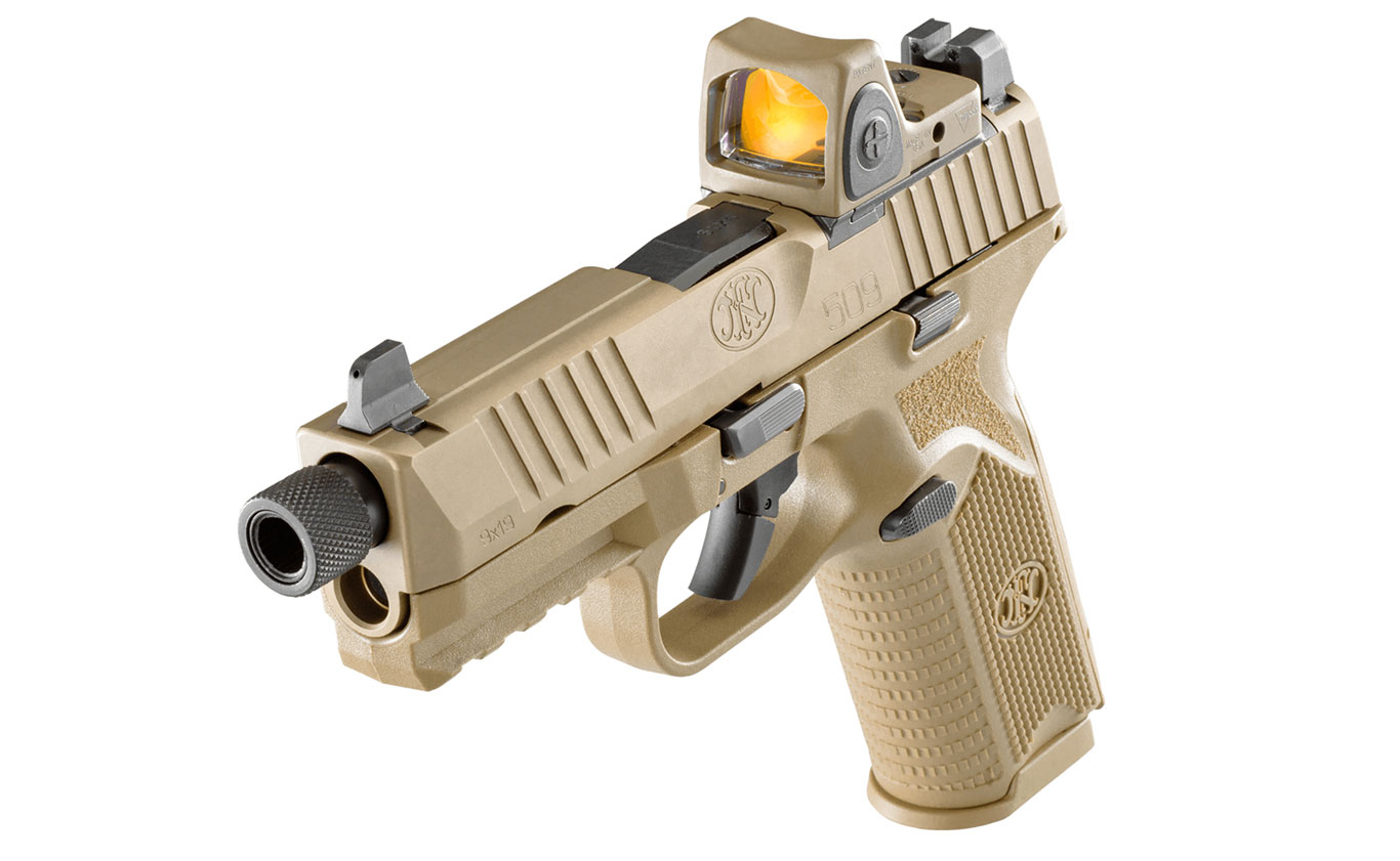 FN Expands Striker-Fire 509 Series with Release of Tactical Pistol