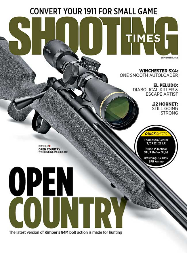 Shooting Times September 2018 Issue