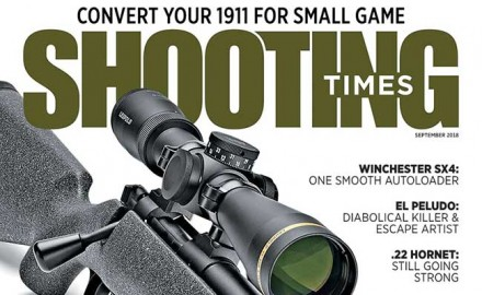 Our Shooting Times September issue will be on newsstands from July 17th.