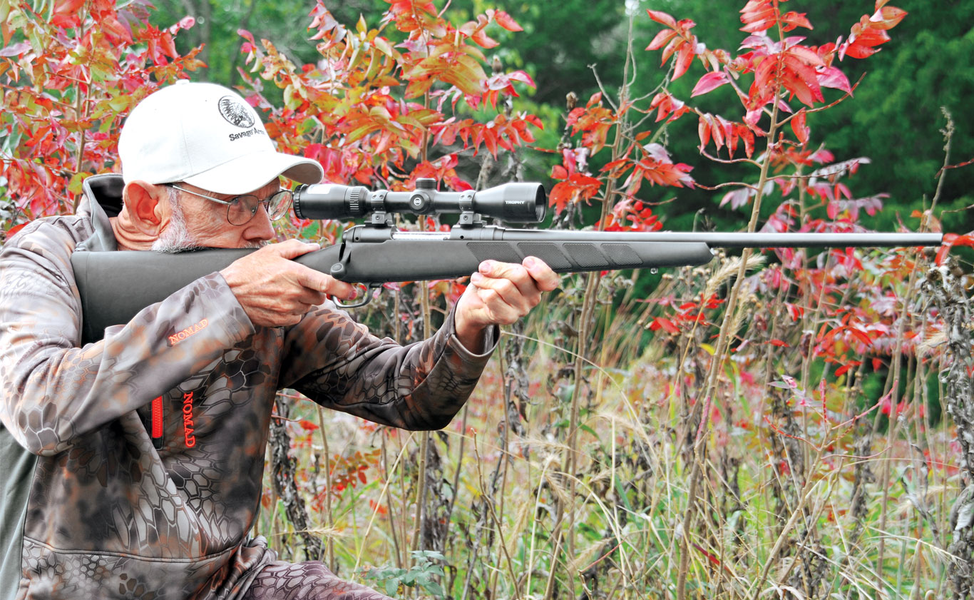 The Savage Model 11 Package rifle is plenty accurate, lightweight, and well balanced. Best of all, it's reasonably priced.