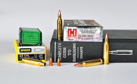 The .22-250 Remington is still one of the best varmint cartridges available. As a wildcat cartridge, it was a simple conversion from the once-popular .250 Savage case. It was domesticated by Remington in 1965.
