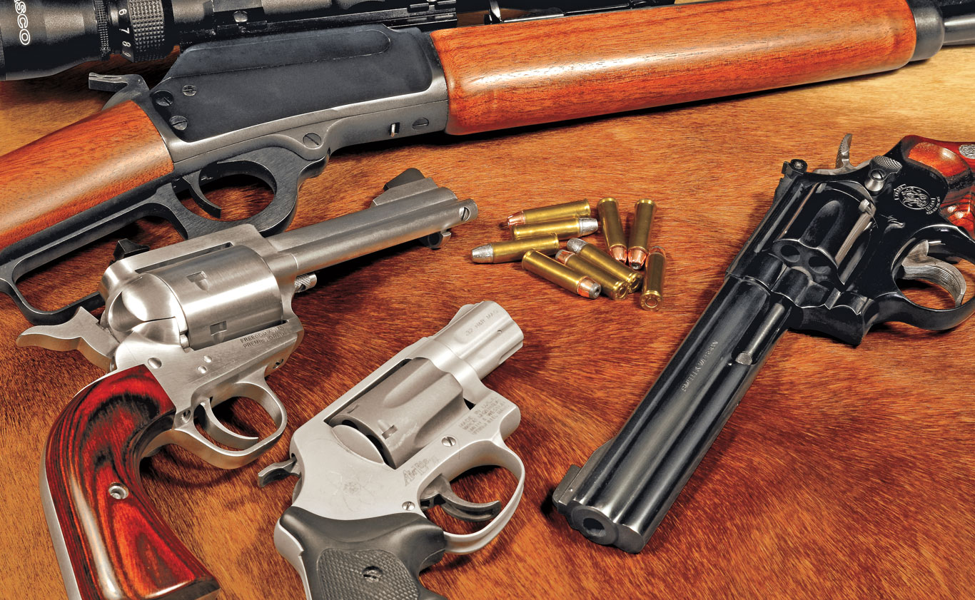 While it's not a large cartridge, the .32 H&R Magnum is extremely pleasant to shoot and useful when loaded with a good bullet.