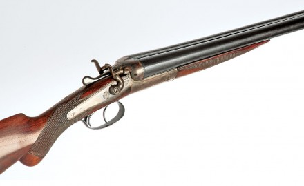 "The Lincoln Jeffries hammer double shotgun may be ""plain,"" but even so, it has a lot of style."