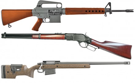 Here is a brief compilation of new rifles for 2018.