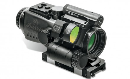 The T.M.P.R. Laser Sight is a low-profile, 2.5-milliwatt aiming laser that's adjustable for windage and elevation.