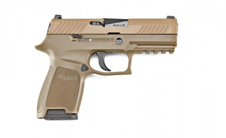 SIG SAUER's modular P320 (under its military designation of M17) won the prestigious Modular Handgun System contract in 2017.