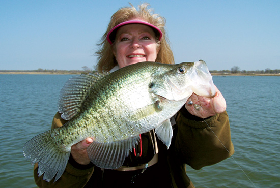 Crappie Spawn Slabs