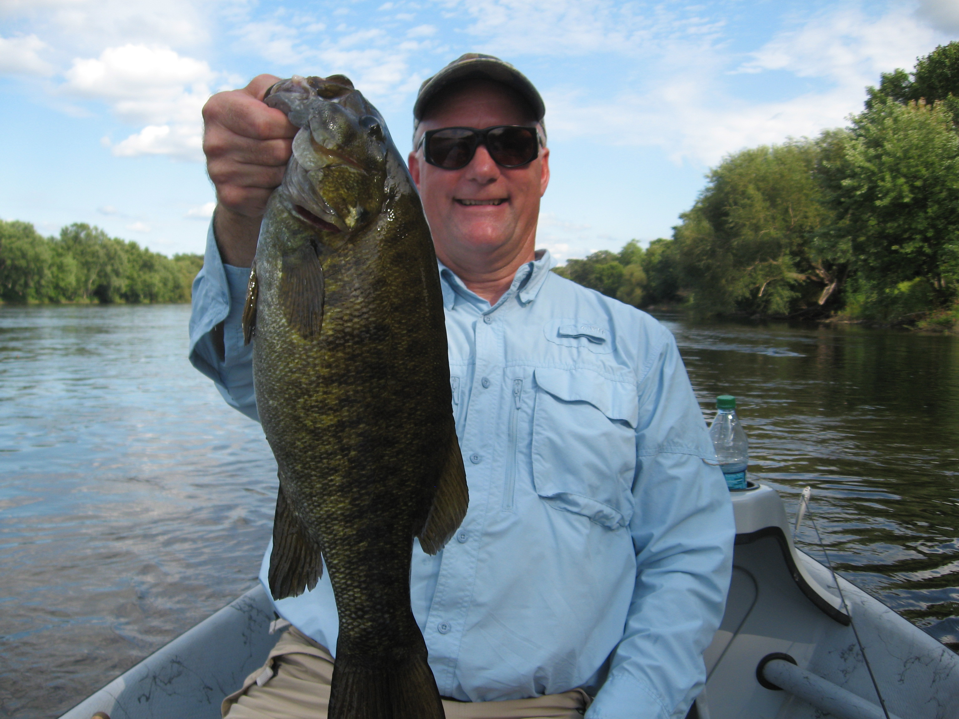 Father Timothy  Yanta  Jordan MN   Species: Smallmouth Bass Date Caught: 08/28/2011 Kept /