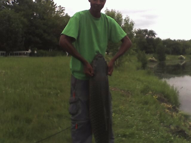Matthew Grayson bloomington Indiana  One day I was just messing around and I was bass fishing