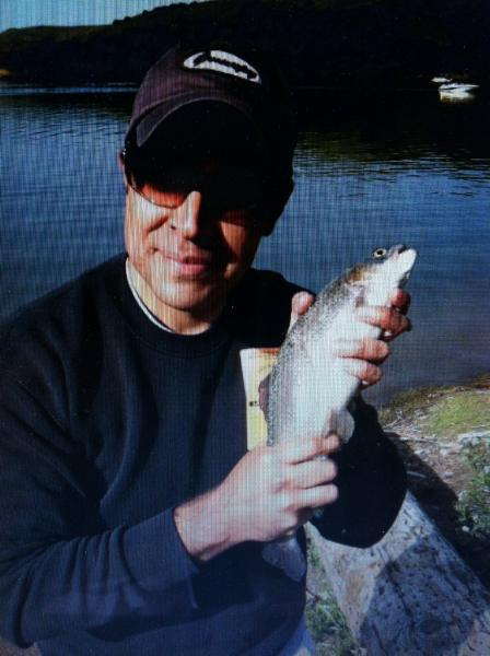 Carlos  Valera Whittier Ca   Species: Rainbow Trout/Steelhead Date Caught: 05/16/2011 Kept /