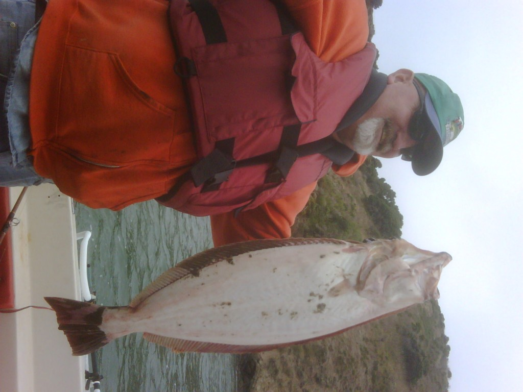 Alan With 20lbs Halibut