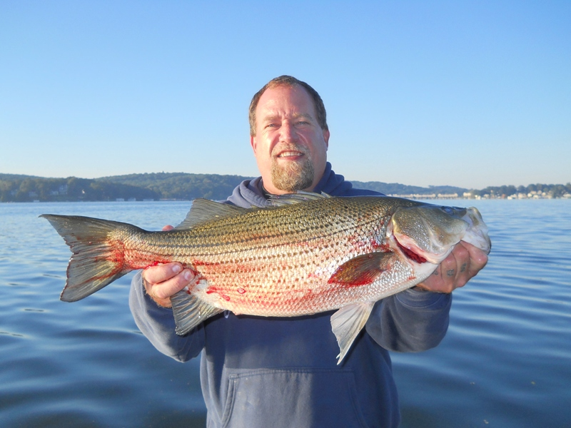 Arthur Huttemeyer Budd Lake  New Jersey   Species: Striped Bass Date Caught: 09/01/2011 Kept /