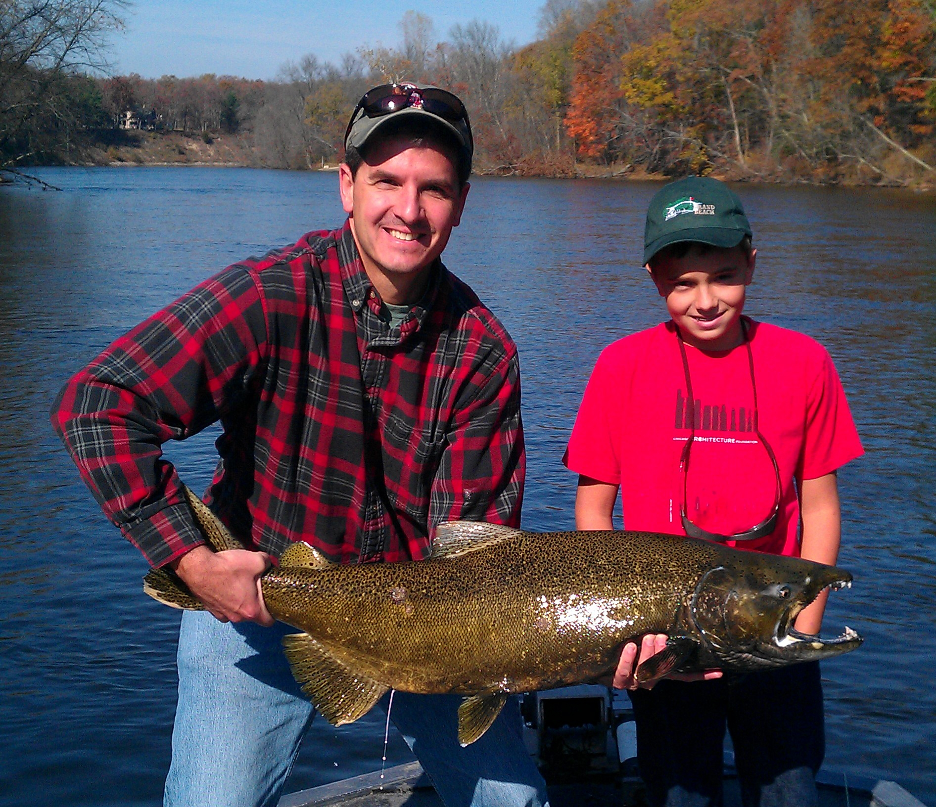 Muskegon Salmon Fall 2011