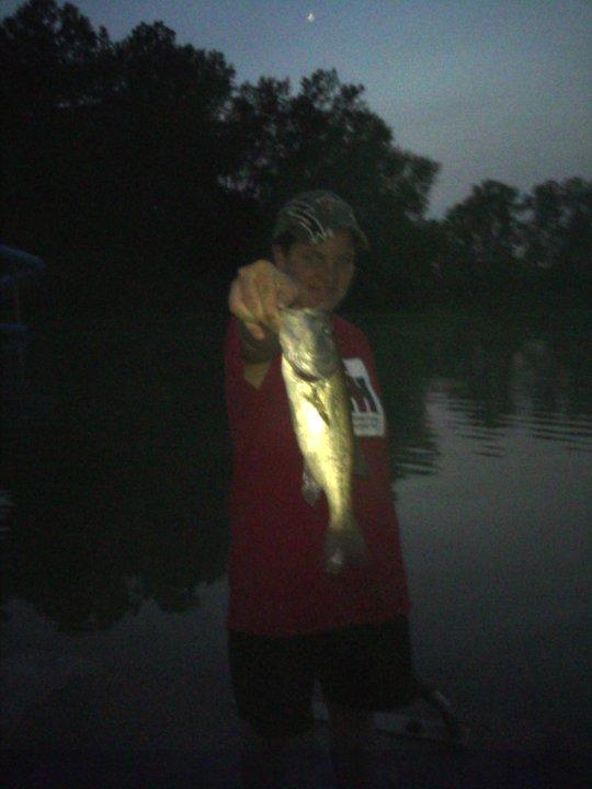 My 17 inch bass!