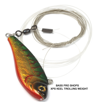 Tricked out muskie trolling options in fisherman for Inline fishing weights