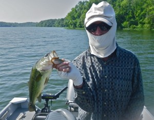 Best time to bass fish during the heat of summer in for Best time to go bass fishing