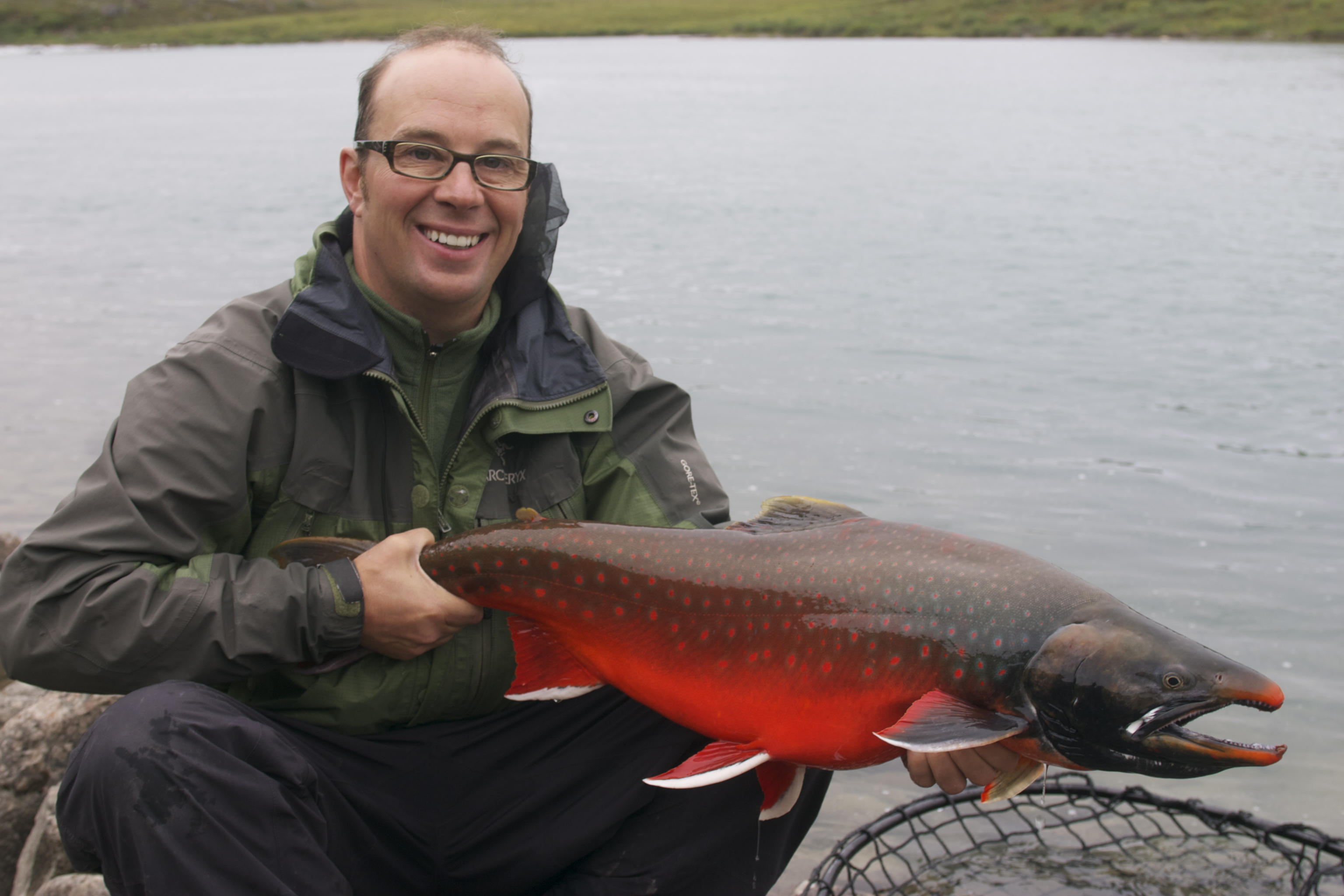 Arctic Char | Arctic Char Photos In Fisherman