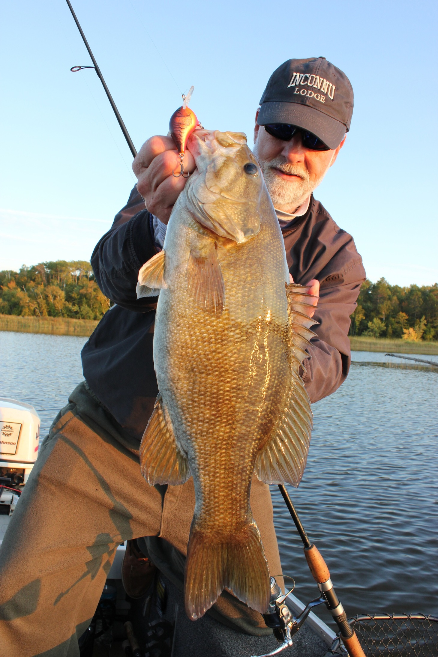 Smallmouth  Chronicles     After writing yesterday's post on the Salmo Hornet, Mary and I hit the