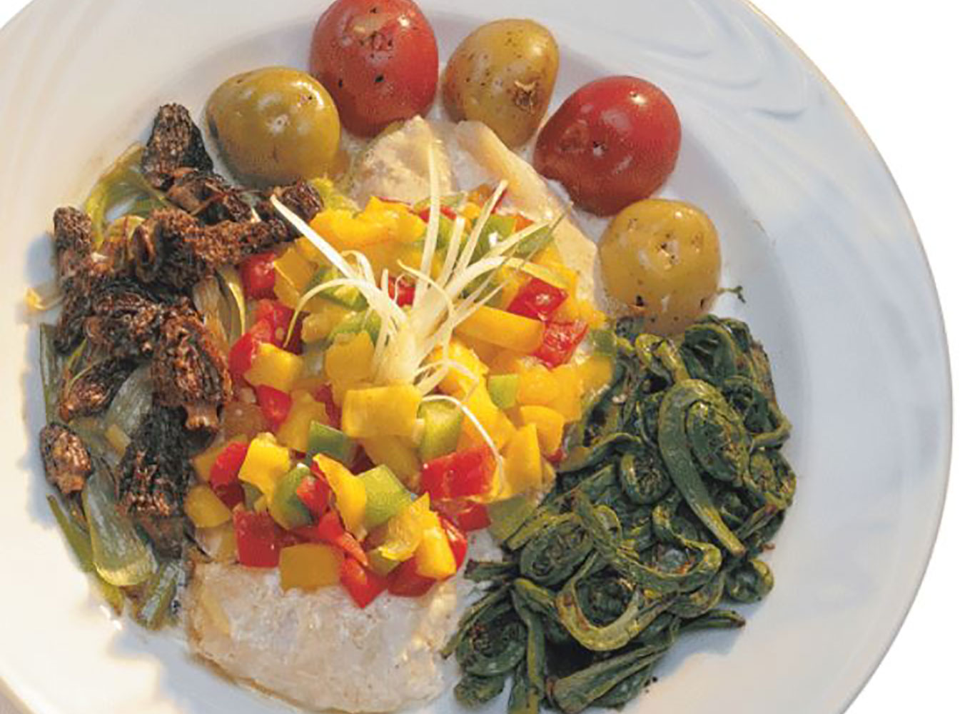 Baked Walleye with Mango Salsa Recipe