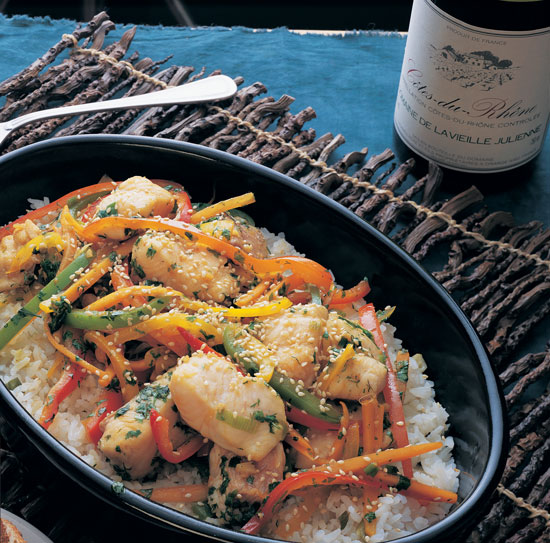 Stir Fry Catfish