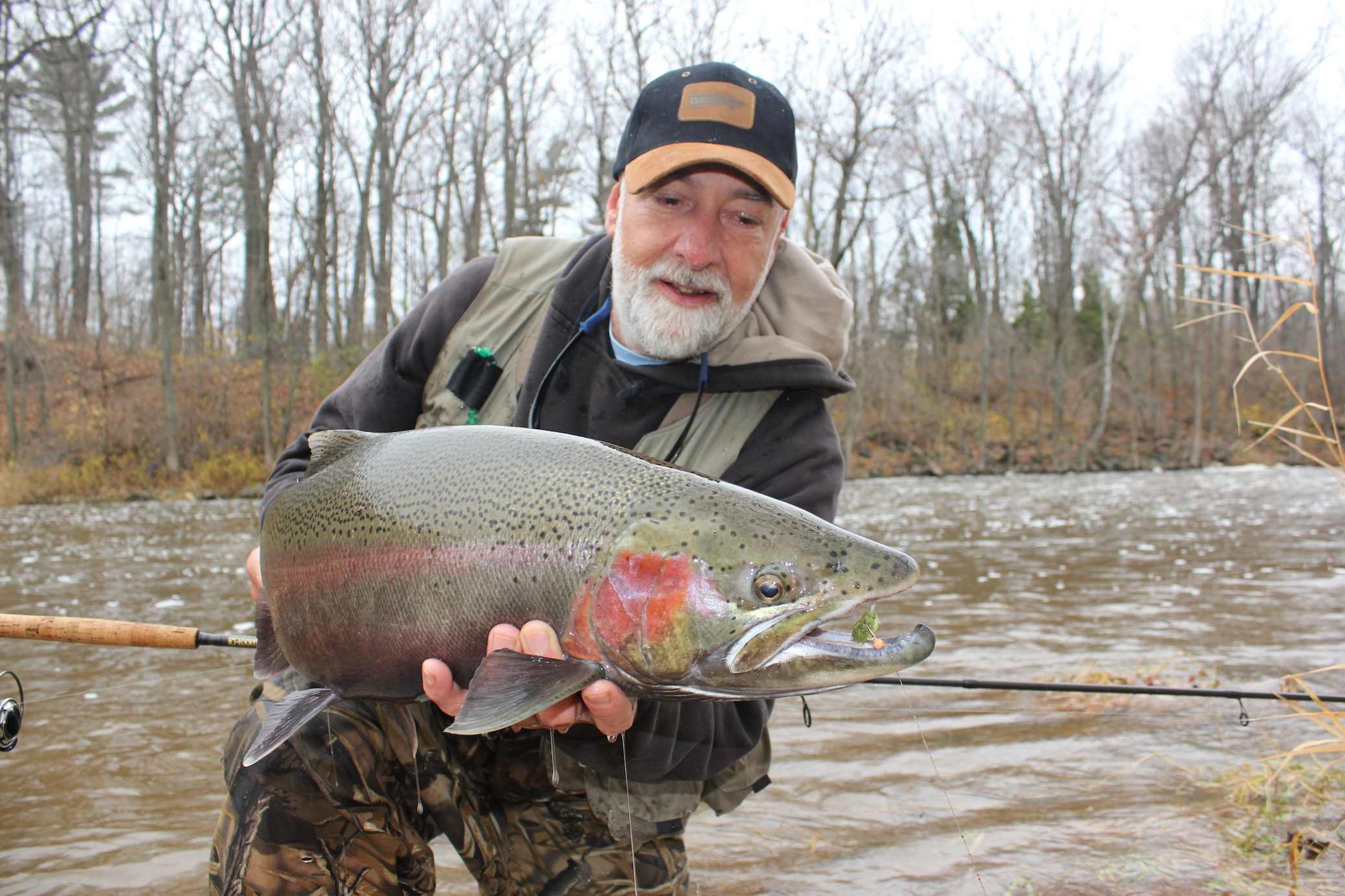 Making steelhead jig candy in fisherman for Jig fishing for trout